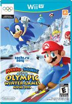 MARIO & SONIC AT THE OLYMPIC WINTER GAMES  WII U