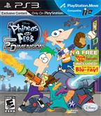 PHINEAS Y FERB ACROSS 2D DIMENSION PS3