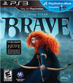 BRAVE DISNEY PIXAR PS3