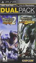 MONSTER HUNTER FREEDOM 2 & FREEDOM UNITE DUAL PACK PSP