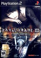 FATAL FRAME III: THE TORMENTED PS2