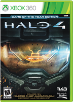 HALO 4 ULTIMATE EDITION GOTY XBOX 360
