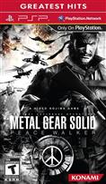 METAL GEAR SOLID : PEACE WALKER PSP
