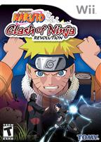 NARUTO CLASH OF THE NINJA REVOLUTION WII