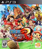 ONE PIECE UNLIMITED WORLD PS3