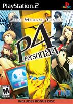 PERSONA 4 WITH SOUNDTRACK PS2