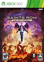 SAINT ROW IV: GAT OUT OF HELL XBOX 360