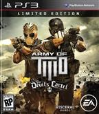 ARMY OF TWO THE DEVILS CARTEL LIMITED EDITION PS3