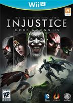 INJUSTICE: GODS AMOUNT US WII U