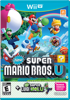 NEW SUPER MARIO BROS U + NEW SUPER LUIGI U WII U