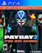 PAYDAY 2 : THE BIG SCORE PS4