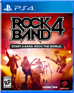 ROCKBAND 4 WIRELESS GUITAR BUNDLE PS4