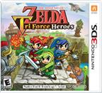 LEGEND ZELDA TRI FORCE HEROES 3DS